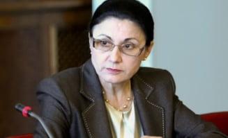 Ecaterina Andronescu spune ca n-a plagiat: Intrebati-i pe cei care ma cunosc
