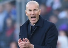 Echipa Real Madrid a ramas fara antrenor. Zinedine Zidane a intrat in izolare