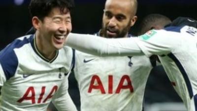 Echipa lui Jose Mourinho s-a calificat in finala Cupei Ligii Angliei. Derby urias in a doua semifinala