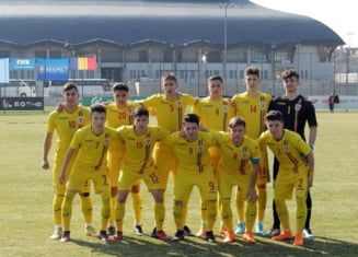 Echipa nationala under 17 a Romaniei a fost umilita in Ungaria