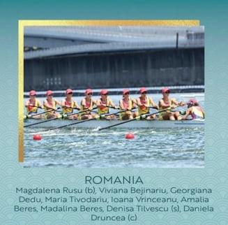 Echipajul de 8+1 feminin, mândria României, a ocupat ultimul loc în finala Jocurilor Olimpice