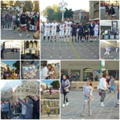 Echipe din 7 ramuri sportive au jucat minifotbal in fata Operei pentru Kassandra Rotariu!