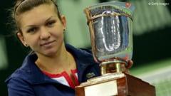 Ecouri in presa internationala dupa victoria Simonei Halep la Moscova