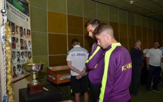 "Eexpozitie temporara: ""FC Arges - Campioana Romaniei, editia 1978-1979"". Patru decenii ale echipei legendare, in fotografii, cupe si medalii"