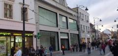Efectul Mall-ul de la Gara - Centrul Sibiului parasit de marile branduri