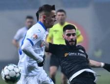 Egal cu goluri spectaculoase intre CSU Craiova si Viitorul. Oltenii pierd teren in lupta pentru titlu