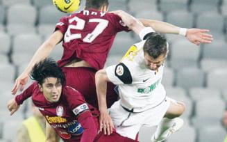 """Egal intre """"U"""" si CFR Cluj, intr-un derbi doar cu numele"""