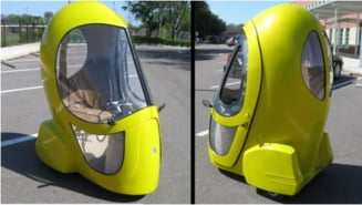 Eggasus - scuter, masina electrica sau... ou? (Video, Galerie foto)