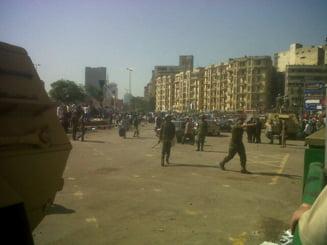Egipt: Tancurile ocupa din nou Piata Tahrir (Galerie foto)