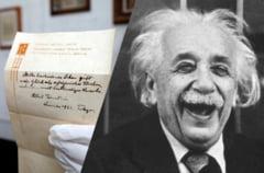 Einstein a scris acum un secol un bilet care face istorie. Care e formula fericirii, conform geniului fizicii