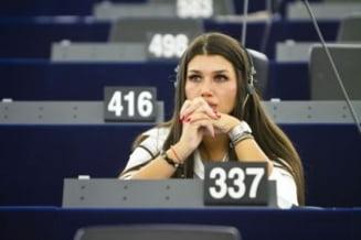 Elena Basescu - cea mai vorbareata si Vadim - cel mai tacut roman din PE