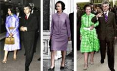 Elena Ceausescu - examen de moda marca Iulia Albu (Foto)