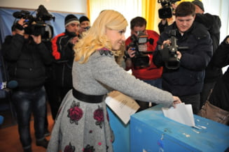 Elena Udrea: Am votat cu dorinta ca faptele sa fie cele care sa construiasca in tara