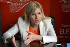 Elena Udrea: Dupa europarlamentare multi se vor reevalua, dreapta va avea candidat unic la prezidentiale
