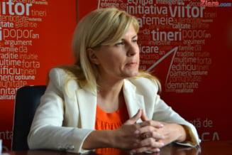 Elena Udrea: Indepartarea PDL de presedinte, o eroare (Video)