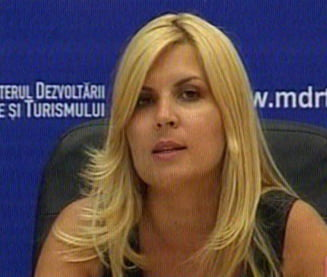 Elena Udrea: Mazare, incapabil sa acceseze fonduri europene