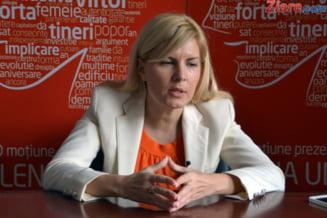 Elena Udrea: PSD este principalul adversar al PDL Interviu (II)