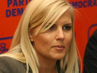 Elena Udrea: Sunt o garantie mai mare a unitatii PDL decat Blaga