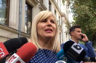 Elena Udrea, la proces: Ma bucur mult ca sunt acasa, lucururile sunt in schimbare spre bine in Romania si in Justitie