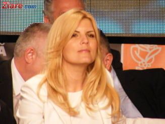 "Elena Udrea, suparata pe ""nemultumitii"" care cauta zazanie intre Basescu si USL"