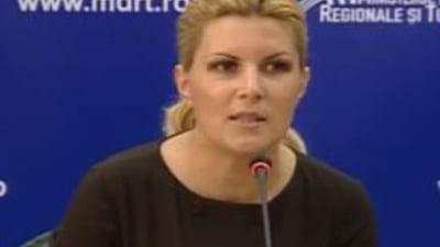 Elena Udrea a pierdut definitiv procesul cu Olguta Vasilescu