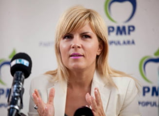 Elena Udrea promite un serial cu politicieni si oameni de presa