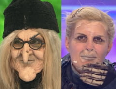 Elena Udrea s-a mascat in vrajitoare la Revelionul prezentat de Dan Negru. Ea este judecata in mai multe dosare de coruptie
