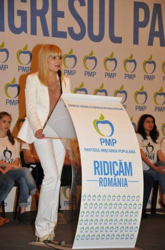 Elena Udrea sare la gatul lui Blaga si Iohannis - Doi lideri politici slabi, isi cumpara linistea