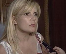 Elena Udrea spune ca Emil Boc e cel mai curajos premier