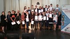 Elevi din Iasi, premiati de statul german. Totul s-a intamplat la un mare colegiu
