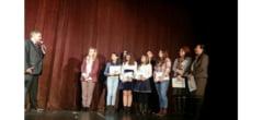 """Elevii Liceului Tehnologic """"Sf. Sava"""" din Berca, premiati de ambasadorul Frantei la Concursul International Philippe Senghor"""