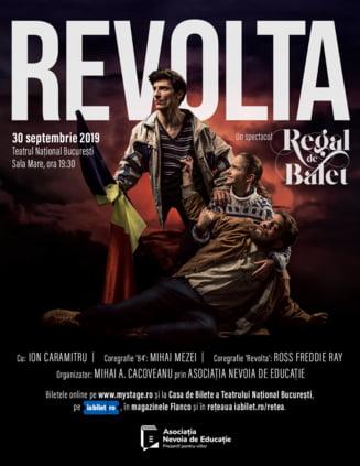 Elevii care au luat 10 la Bac, invitati la un spectacol de balet despre Revolutia din '89