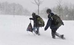 Elevii din Buzau vor reveni miercuri la scoala. Sunt insa si cateva exceptii