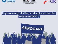Elevii si studentii fac azi un protest mut in solidaritate cu magistratii