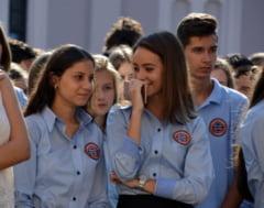 Elevii si studentii oradeni cer bani pentru tineri in bugetul Oradiei pentru 2017