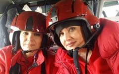 Elicopter SMURD cazut in lacul Siutghiol. Fragmente din epava au fost aduse la mal. Medicul a murit. Copilotul si pilotul, scosi din apa fara semne vitale