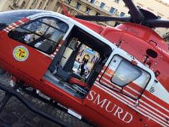 Elicopter SMURD prabusit in R. Moldova - patru morti. Imagini de la locul tragediei