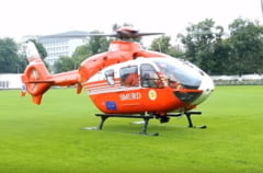 Elicopter SMURD prabusit in R.Moldova: Ultima misiune dusa la indeplinire (Video)