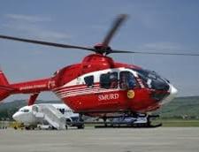 Elicopter SMURD prabusit in lac: Nu avea pilot automat si baliza de semnalizare