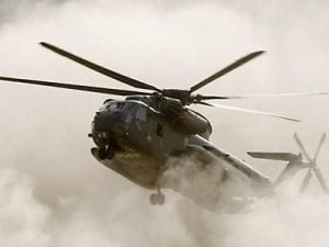 Elicopter de transport rusesc, prabusit in timpul unui exercitiu. Trei membri ai echipajului au murit