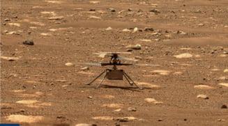 Elicopterul Ingenuity al NASA urmeaza sa intreprinda luni primul zbor pe Marte. Va fi primul zbor al unui vehicul motorizat pe o alta planeta