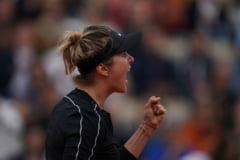 Elina Svitolina castiga un meci foarte asteptat la Roland Garros cu Venus Williams