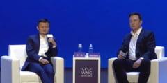 Elon Musk si miliardarul chinez Jack Ma, prima aparitie comuna: Au vorbit despre Marte si inteligenta artificiala (Video)