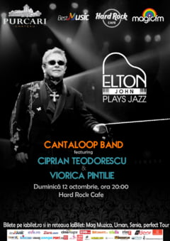 Elton John Plays Jazz la Hard Rock Cafe