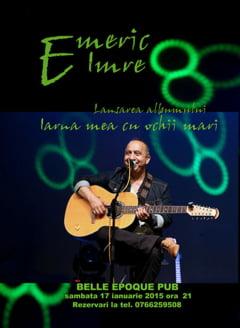 Emeric Imre isi lanseaza albumul la Targu Jiu