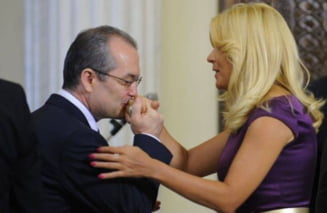 Emil Boc: Elena Udrea are mai multe sanse decat Blaga la sefia PDL