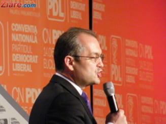 Emil Boc: Liderul PDL nu va fi neaparat si candidatul la prezidentiale