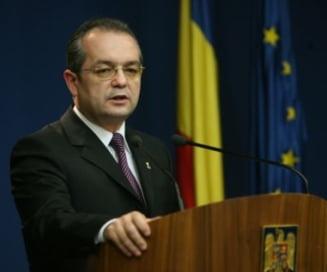 Emil Boc: Platim ponoasele politicii stangiste din ultimii 20 de ani
