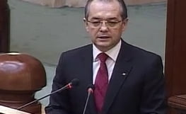 Emil Boc a dat raportul in Parlament - ati urmarit minut cu minut