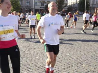 Emil Boc a participat la Crosul Companiilor. In cat timp a alergat cei 5 km?